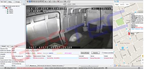 cámaras de seguridad para camionetas, videolocaliza