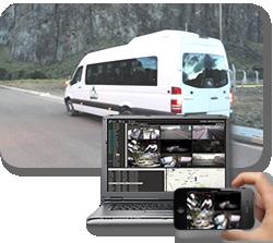 camaras DVR en tiempo real para minibus