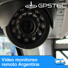 Video Monitoreo Remoto Argentina: Cámaras de seguridad con GPS y video en vivo