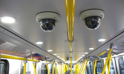 Videovigilancia en vivo en el transporte público de pasajeros en Argentina