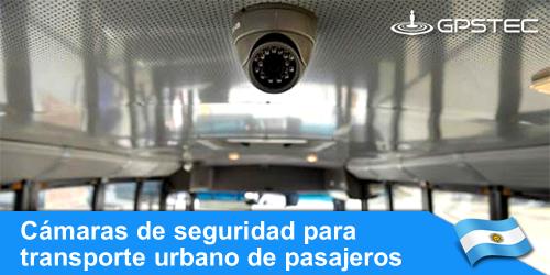 instalar cámaras de seguridad en colectivos de transporte urbano