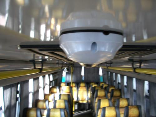 videolocalización, cámaras para ómnibus