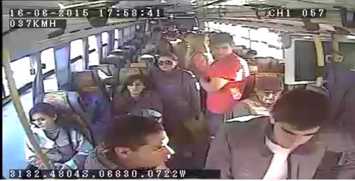 cámaras de seguridad para transporte público