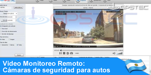 video vigilancia online para autos