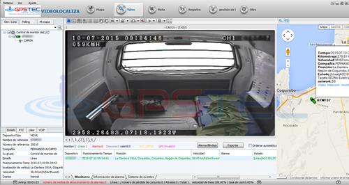 cámaras online para vehículos, gps argentina