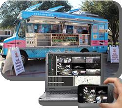 cámaras de seguridad online para food trucks argentina