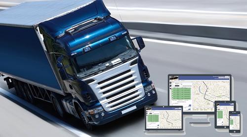 Control satelital de camiones
