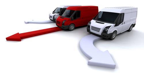 Beneficios de la localización de flotas de vehículos