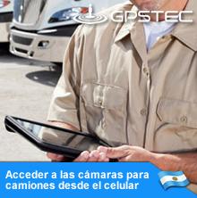 Acceder a las cámaras para camiones desde el celular