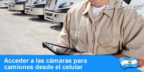 video localización de camiones en argentina