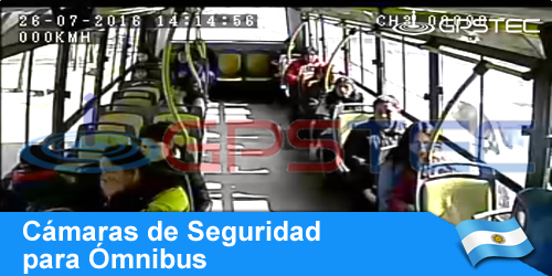 video vigilancia argentina, cámaras para colectivos