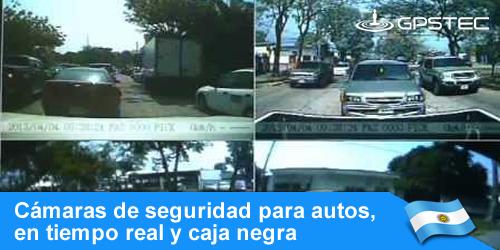 sistemas de camaras de seguridad para autos en tiempo real