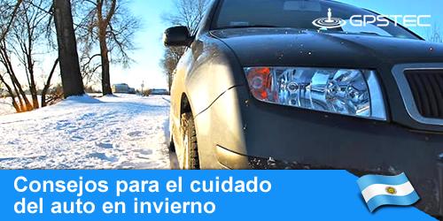 como cuidar el auto en invierno