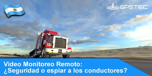 video vigilancia con cámaras de seguridad de camiones