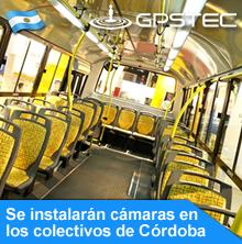 Cámaras de seguridad en colectivos urbanos de Córdoba Capital