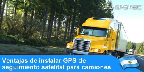seguimiento satelital para camiones argentina